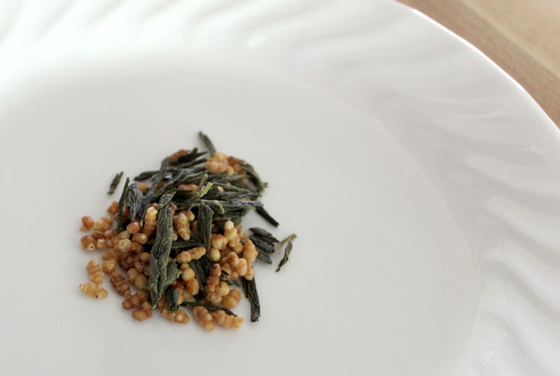 Persimmon Tree Tea's Genmaicha green tea