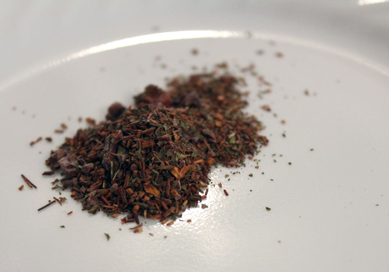 Persimmon Tree Tea's Mint Chocolate Chip Rooibos tea