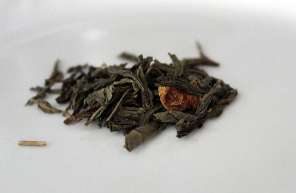 Persimmon Tree Tea's Citrus Green Decaf