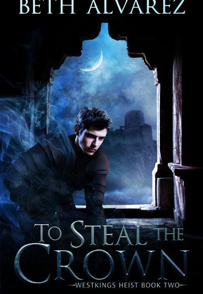 To Steal the Crown cover reveal and the end of NaNoWriMo 2019