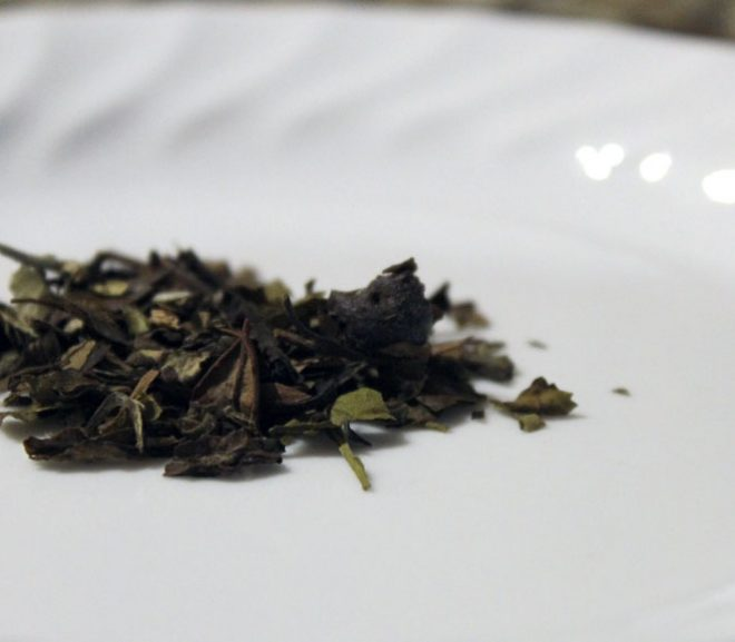 Tea review: Adagio white blueberry