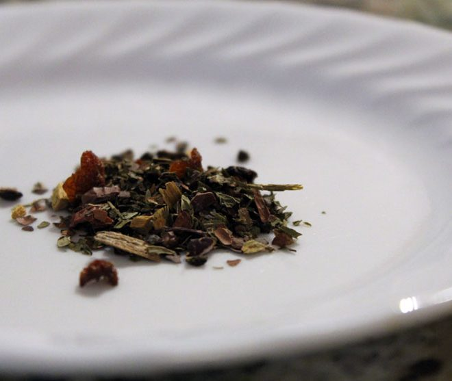 Tea review: IKEA Egentid herbal tea with peppermint and cocoa