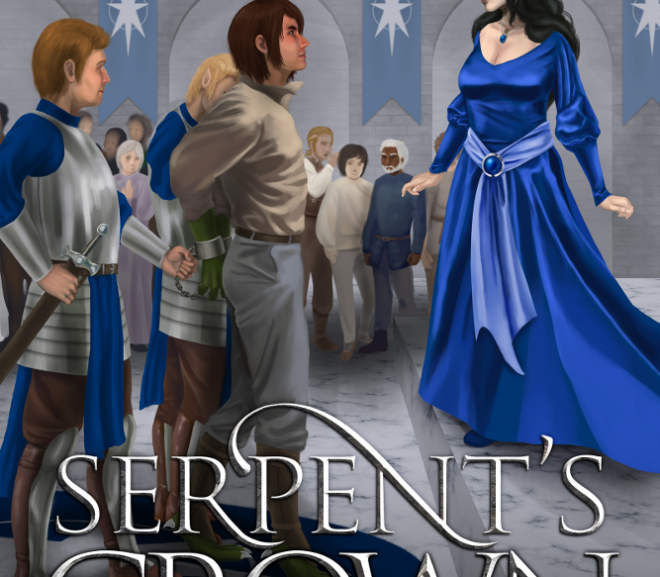 Cover Reveal: Serpent's Crown, Book 5 in the Snakesblood Saga