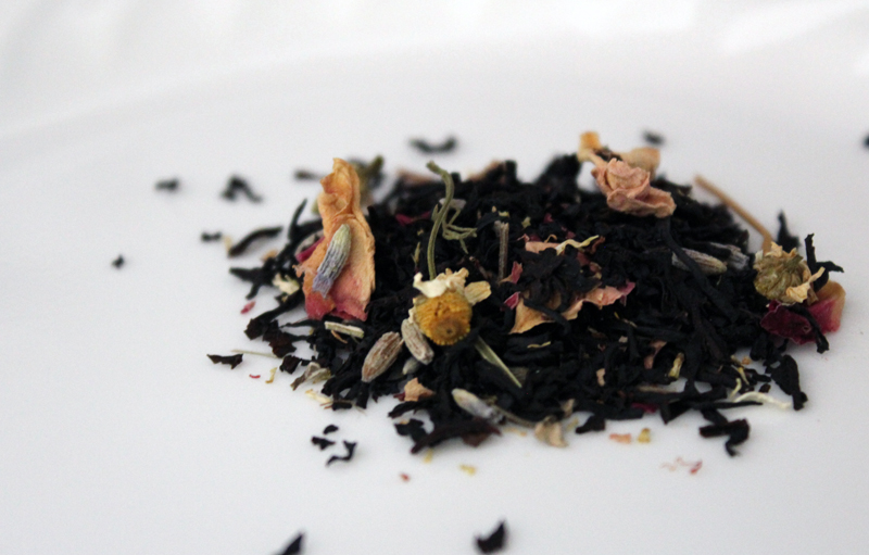 Tea review: Reading Nook Blend black tea from Plum Deluxe