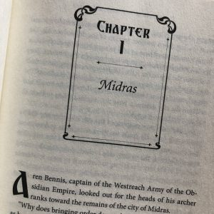 Sword of Midras chapter headers