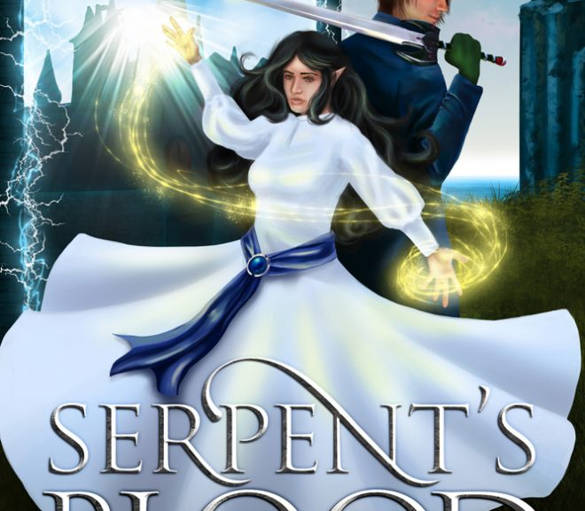 Cover Reveal: Serpent's Blood, Book Six of the Snakesblood Saga
